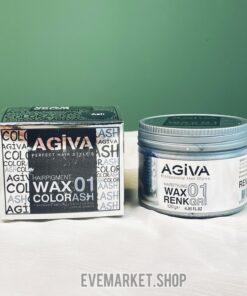 آگیوا واکس مو رنگی (نقره ای)
